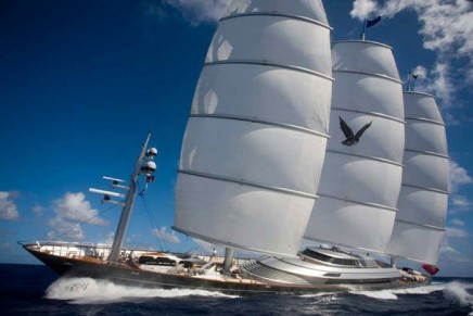 First Baccarat Superyacht World Trophy goes to stunning Maltese Falcon