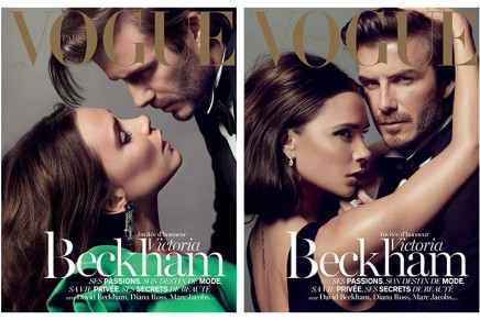 Victoria Beckham – guest of honor for VogueParis Christmas issue