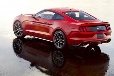 Half century of Mustang.