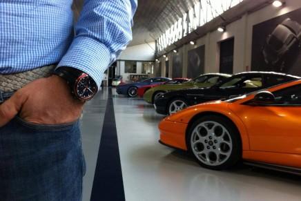 """Necessary beauty"": Chopard Mille Miglia Zagato watch"