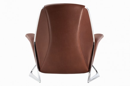 A place to unwind: Audi Design Luft chair for Poltrona Frau