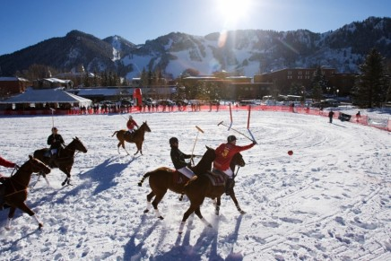Piaget World Snow Polo Championship in Aspen