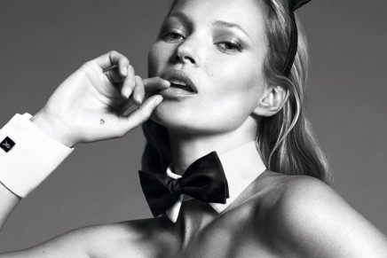 Kate Moss, Marc Jacobs, Mert & Marcus for Playboy's 60th anniversary