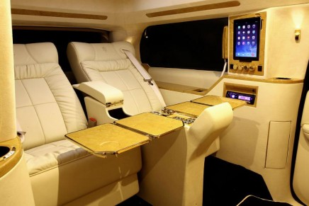 Lexani Adage – a fully equipped Cadillac Escalade conversion