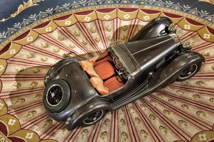 The revived Atalanta sports car: 1930s good looks combined with 21st century mechanical know-how.