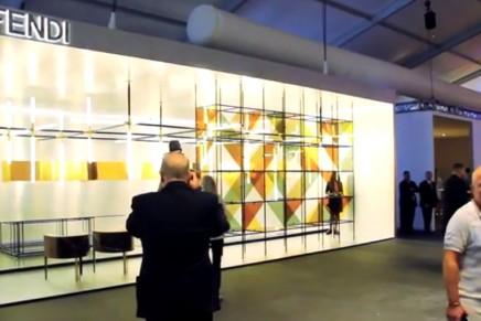 """2014 Design Miami/: Roman Lounge/ Dimore Studio for Fendi. An """"ideal Fendi apartment"""" in Rome"""