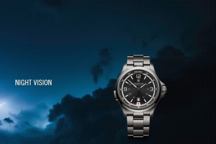Experience the Night Vision. 2014 Victorinox Swiss Army Night Vision