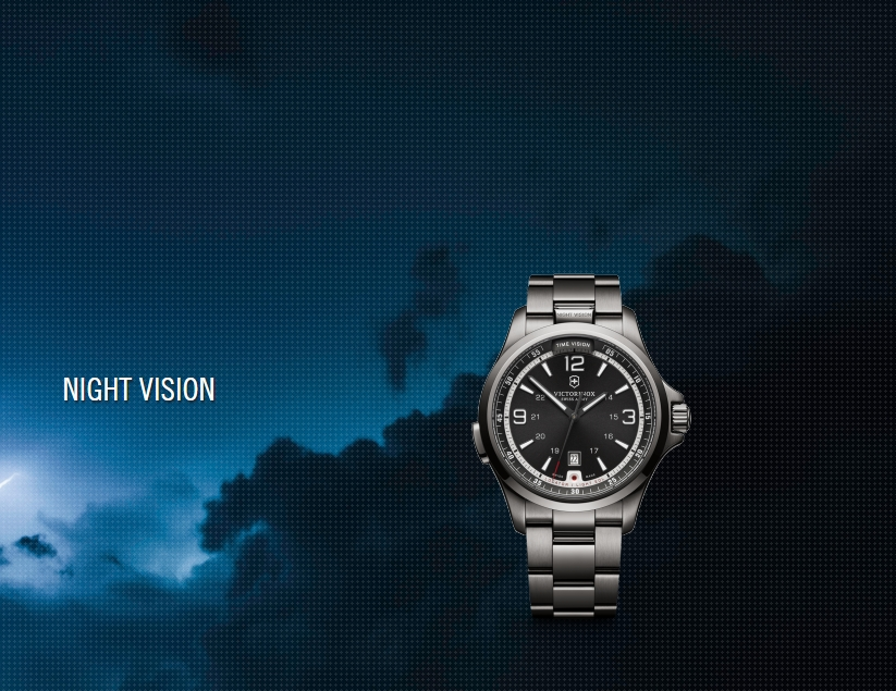 Experience The Night Vision 2014 Victorinox Swiss Army