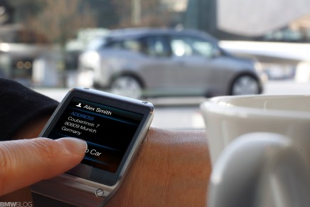 CES 2014: Monitoring a car's systems — on your wrist