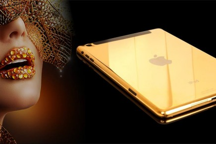 World's first iPhone 5S in massive gold made with 3D printing technology