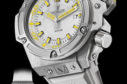 Hublot diving watch only available in Maldives
