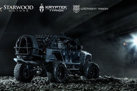 The baddest Jeep on the planet – military-inspired Kevlar finished Nightstalker