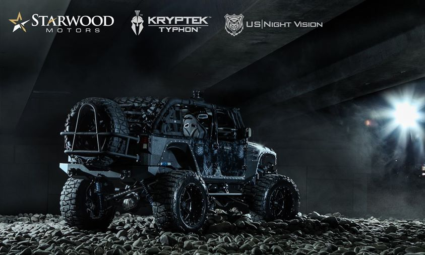 the baddest jeep on the planet military inspired kevlar