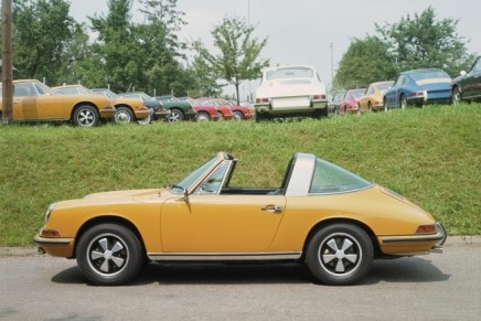 North American International Auto Show 2014: Porsche 911 Targa debut