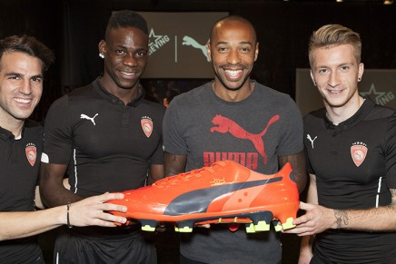 Puma's evoPOWER revolutionary boot technology unveiled in Barcelona