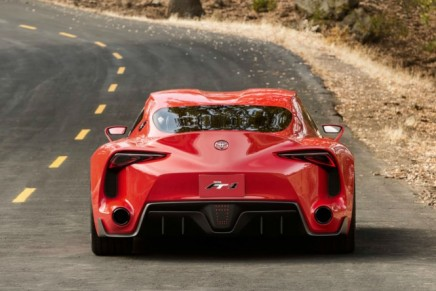 From Gran Turismo screen to the NAIAS stage: Toyota FT-1 concept
