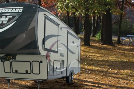 Travel without reservation. The new Winnebago Destination