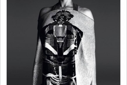 Cultural crash: Givenchy's Africa-meets-Japan themed collection