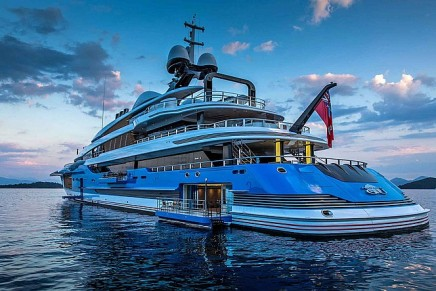 The number of new luxury yachts shows no signs of slowing down
