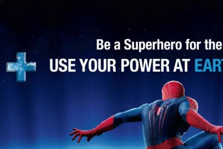 The first Super Hero ambassador for Earth Hour