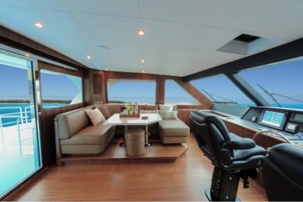 Finally a cat that looks like a yacht: Horizon Power Catamarans PC60 Skylounge