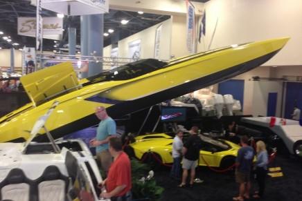The Aventaboat – The Lamborghini Aventador powerboat