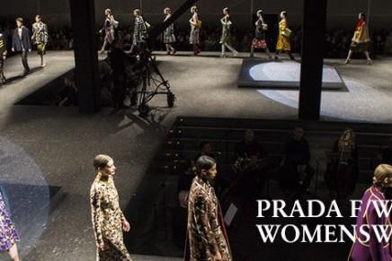Milan fashion week: Prada goes for retro autumn/winter glamour