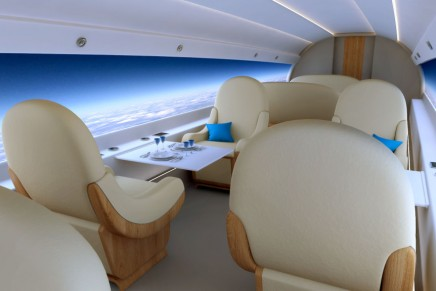 Windowless Spike S-513 to be the first supersonic business jet