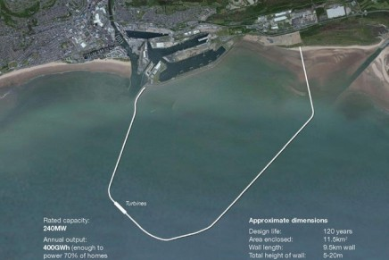 World's largest power-generating lagoon planned for Swansea Bay