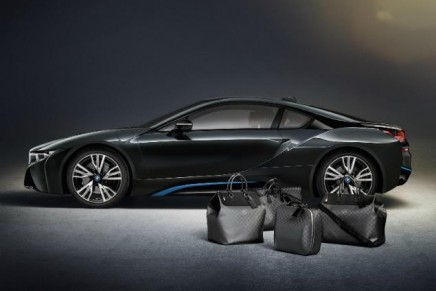 Progressive driving: Louis Vuitton's forward-looking carbon fibre travel bags for plug-in hybrid
