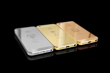 """Just another """"perfect luxury gift"""": New Limited Edition Gulf States iPhone 5s range"""