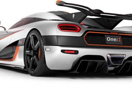 Koenigsegg One:1 to be the fastest car in the world and world's first megacar on biofuel