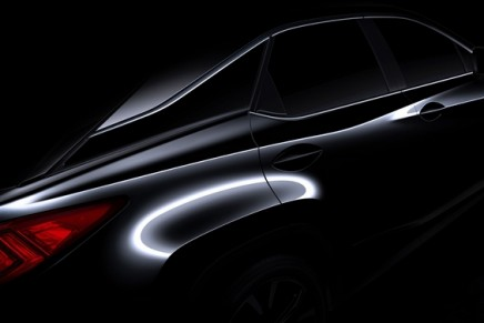 Luxury at Full Volume – All-New 2016 Lexus RX luxury utility vehicle debuts at 2015  NYIAS