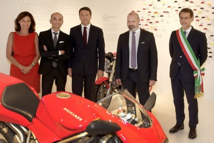 The new Ducati Museum opens with key chapters of motorcycle racing history