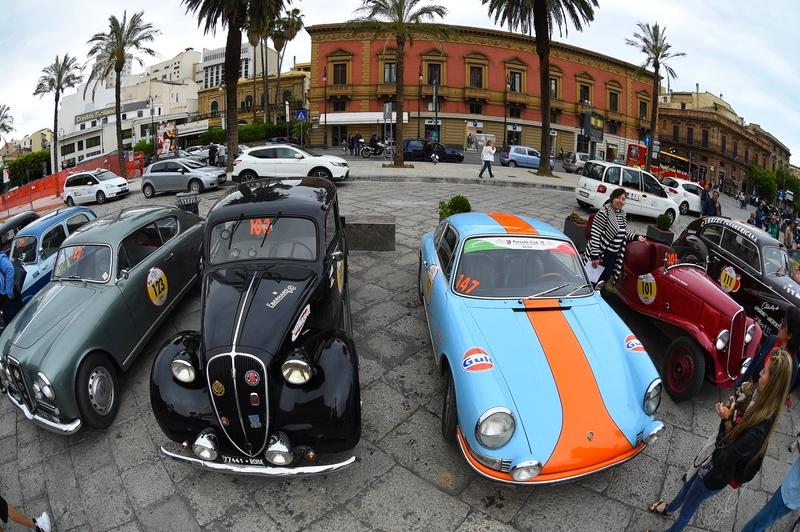 2016 Targa Florio 100 edition of the classic car race - photos exhibition-