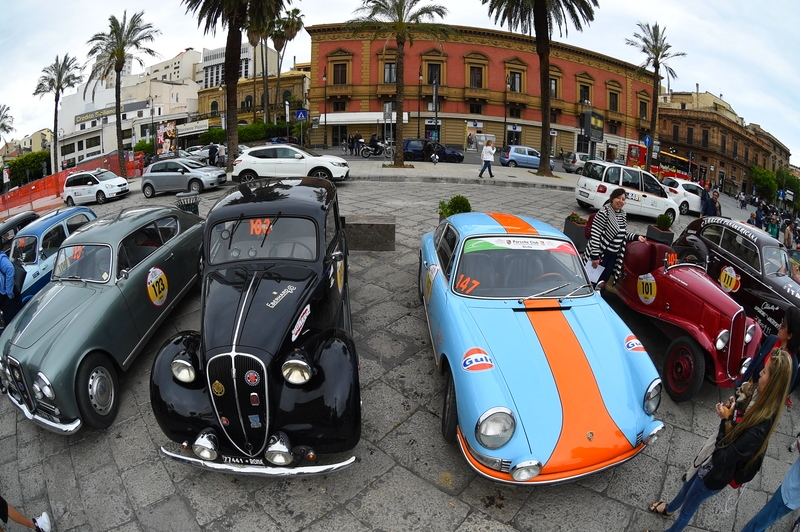 2016 Targa Florio 100 edition of the classic car race - photos exhibition-