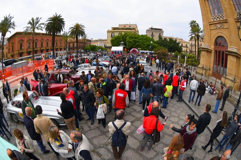 2016 Targa Florio 100 edition of the classic car race - photos exhibition--