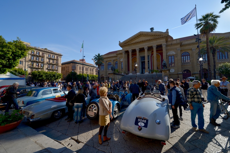 2016 Targa Florio 100 edition of the classic car race - photos exhibition