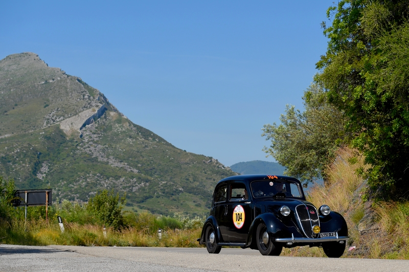 2016 Targa Florio 100 edition of the classic car race - photos from the route