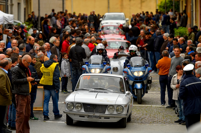 2016 Targa Florio 100 edition of the classic car race - photos parade