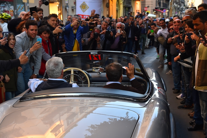 2016 Targa Florio 100 edition of the classic car race - photos - special greetings