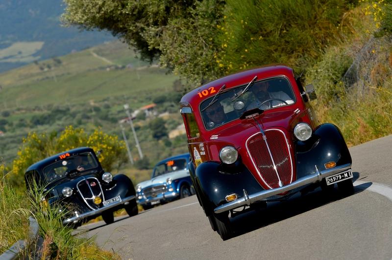 2016 Targa Florio 100 edition of the classic car race - photos
