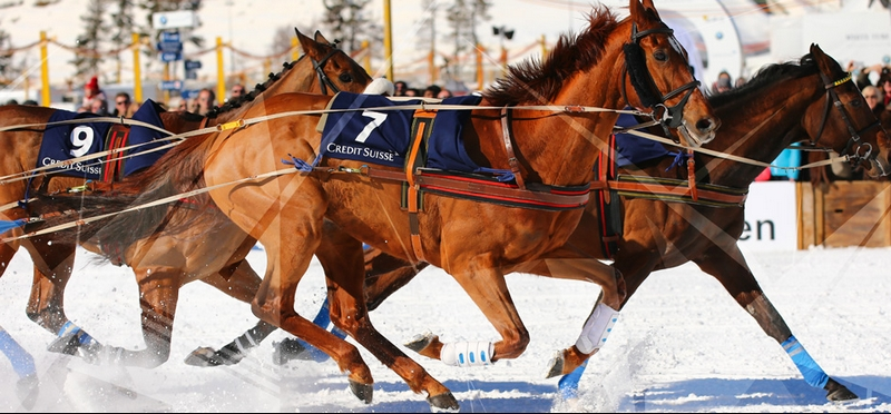 2016 White Turf St. Moritz -February -Credit Suisse Kings Cup - 40-year partnership with Credit Suisse