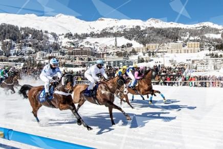 2016 White Turf St. Moritz. New highlights of the race of races on the frozen lake of St. Moritz