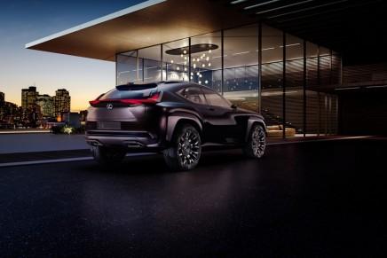 Lexus UX Concept crossover to debut at Paris Motor Show – Mondial de l'Automobile 2016