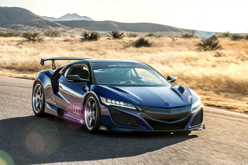 2017 Acura NSX Dream Project by ScienceofSpeed debuted at the 2017 SEMA Show