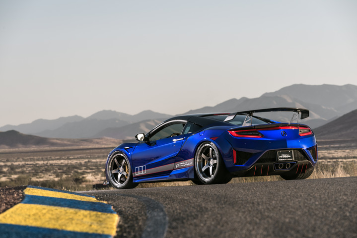 2017 Acura NSX Dream Project by ScienceofSpeed