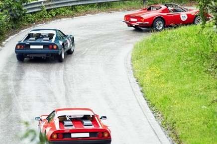 70 Ferraris at the 2017 Ferrari Cavalcade, the event devoted to the cars that have made the history of Ferrari