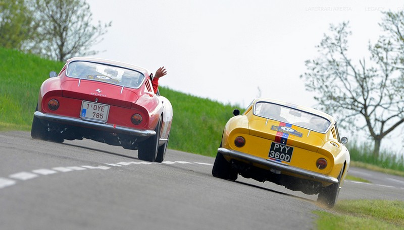 2017 Cavalcade Classiche is the event dedicated to Prancing Horse's historic cars