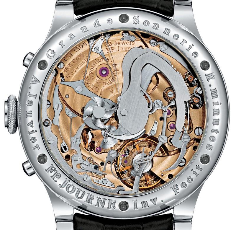 2017 - FP Journe timepieces - GrandS_Dos_Acier_cuir - Watch